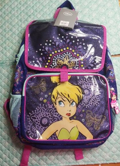 Disney Other - Light up! Tinkerbell Backpack
